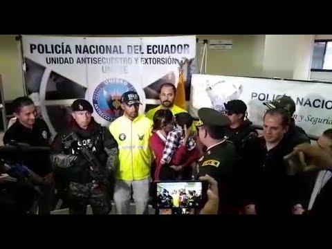 Rescatan en Ecuador a niño venezolano secuestrado por 17 días (VIDEO)