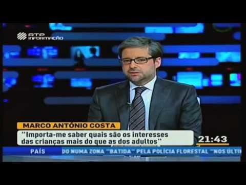 Marco António Costa na RTP Informação