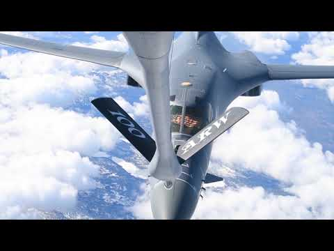 A  B-1B Lancer from the 28th Bomb...