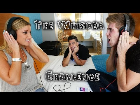 THE WHISPER CHALLENGE w/ Joey Graceffa
