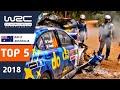 Download Lagu WRC - Rally Australia 2018: TOP 5 Moments Mp3 Free