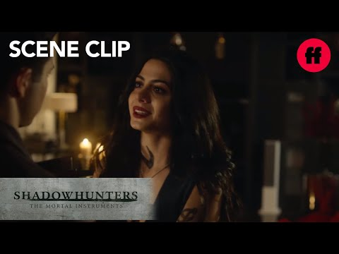 Shadowhunters | Season 2, Episode 11: Izzy Begs Raphael For A Bite | Freeform