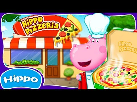 Hippo 🌼 Cooking Games 🌼 Hippo Pizzeria 🌼 Cartoon Game Review