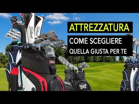 Consigli attrezzatura da golf