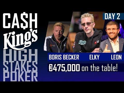 Cash Kings | High Stakes poker with Boris Becker, ELKY and Leon Tsoukernik | Kings Casino 2017