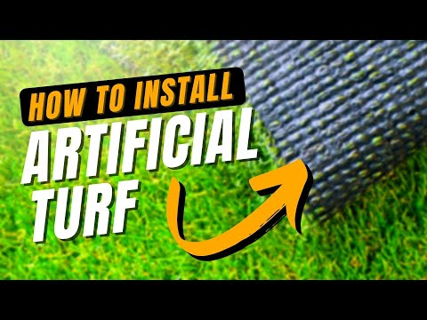 Artificial Turf Installation | A DIY How To Guide