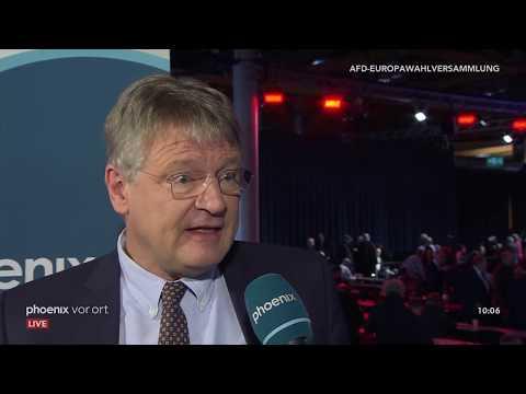 Europawahl-Versammlung der AfD in Magdeburg am 18.11. ...