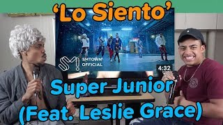 Video SUPER JUNIOR 슈퍼주니어 'Lo Siento (Feat. Leslie Grace)' MV | REACTION MP3, 3GP, MP4, WEBM, AVI, FLV April 2018
