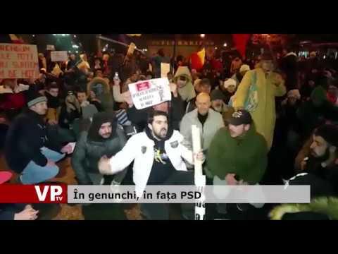 În genunchi, în fața PSD
