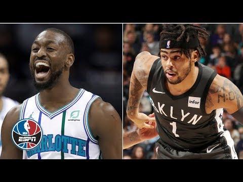 Video: Kemba Walker, D'Angelo Russell duel in Hornets' big win | NBA Highlights