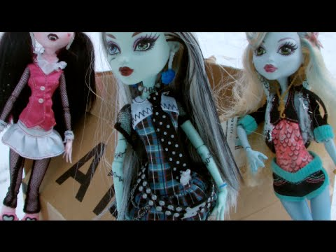 Monster High Doll Adventures Episode 14 - Pushing Daisies