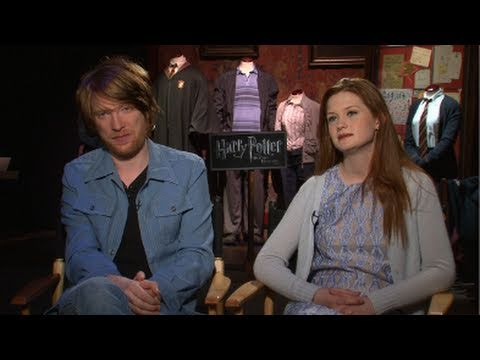Bill and Ginny Weasley on Their Harry Potter Family