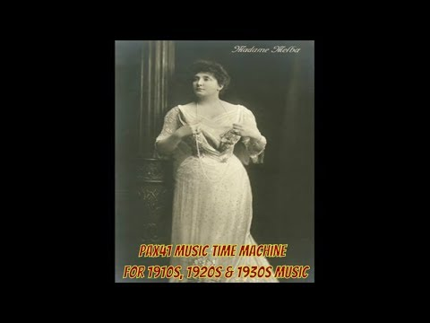 Melba - Red Seal 88073 take 3 recorded 8/23/1910 music by Henry Rowley Bishop flute obbligato by John Lemmone lyrics Lo, here the gentle lark, weary of rest, From hi...