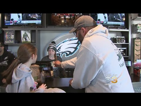 Local Businesses Cash In On Eagles' Success