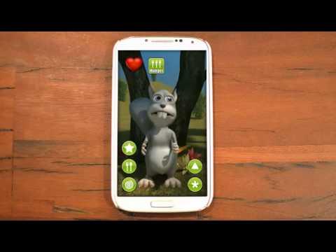 Video of Talking Simon Squirrel