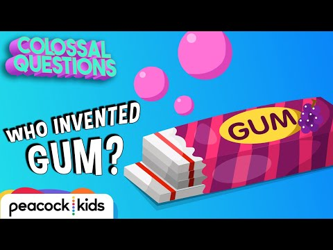 Who Invented Gum?   COLOSSAL QUESTIONS #CampYouTube #WithMe