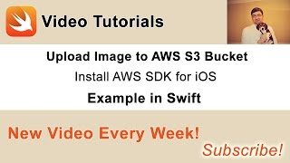 In this video we are going to download and install AWS SDK for iOS. Source code and other videos you can find in this blog post of mine: http://swiftdeveloperblog.com/upload-image-to-aws-s3-bucket-in-swift/