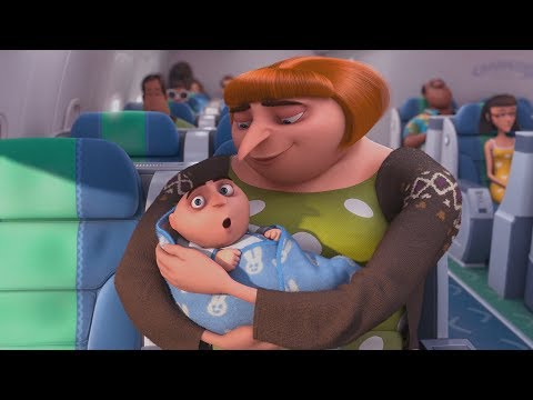 """Despicable Me 2 - """"Lucy on the Plane / I choose Gru !"""""""