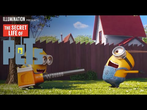 The Secret Life of Pets TV Spot 'Mower Minions'