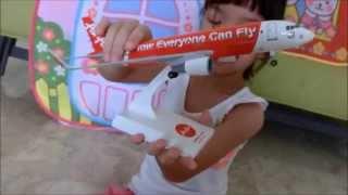 Video Jasmine Youtube #25 - AirAsia plane model MP3, 3GP, MP4, WEBM, AVI, FLV Juli 2018