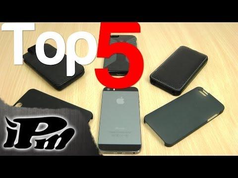 Top 5 iPhone 5/5S Cases [Deutsch/German]