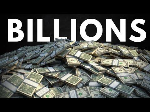 What A Billion Dollars Looks Like $$$