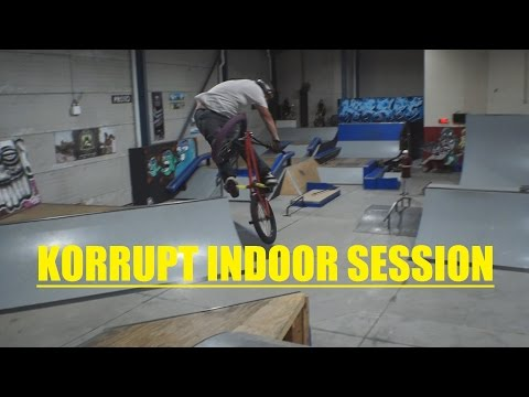 INDOOR BMX SESSION (видео)