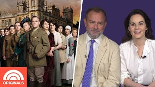 Downton Abbey's Michelle Dockery & Hugh Bonneville Re-Create Best Lines