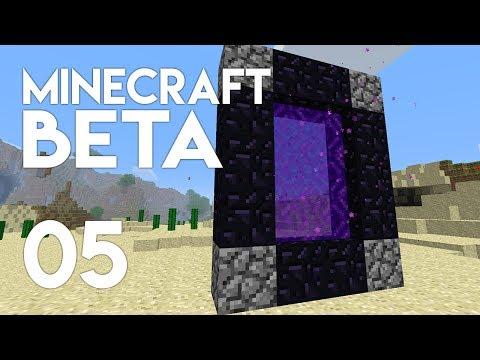 ►Minecraft Beta: NETHER BOUND! (Episode 5)◄ | iJevin