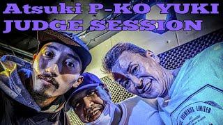 P-KO, Yuki, Atsuki – 神戸deバトル JUDGE DEMO SESSION