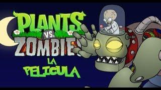 La Pelicula 4 Plantas vs Zombies