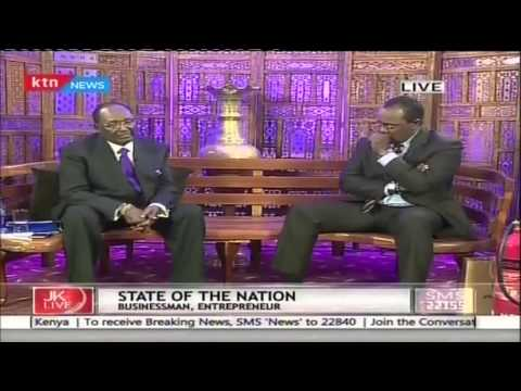 Jeff Koinange Live with Philanthropist Dr. Chris Kirubi part 3