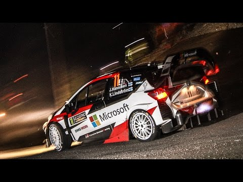 wrc rally montecarlo 2017 - highlights day 1