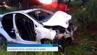 Motorista embriagado causa acidente e jovem de 19 anos morre em Bauru