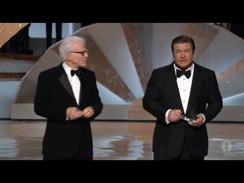 Oscars - Steve Martin and Alec Baldwin, co-hosts of the 82nd Academy Awards®, in their opening monologue.