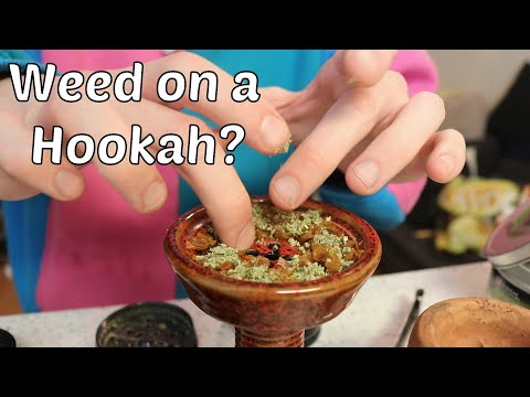 HOW TO SMOKE WEED OFF A HOOKAH