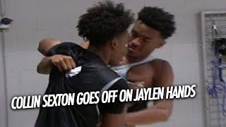 Collin Sexton GOES OFF on Jaylen Hands during the 2017 Ballislife All American practice