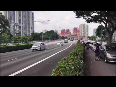 Expressway Closed For Kim Jong Un Motorcade in Singapore