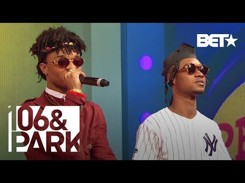 Rae Sremmurd Performs Hit Single No Flex Zone  106 amp Park