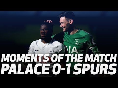 Video: MOMENTS OF THE MATCH | Crystal Palace 0-1 Spurs