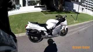 9. 2015 Suzuki Hayabusa GSX1300R Review and Test Ride by Brown Rider