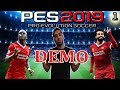Pes 2019 Demo My First Game 1