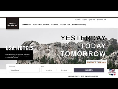 Video Marriott USA Hotels ieri, OGGI, domani (18-3-2021)