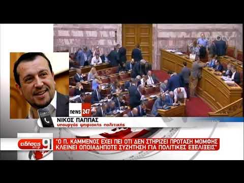 Εξελίξεις στο εσωτερικό των ΑΝΕΛ μετά τις δηλώσεις Σγουρίδη | 28/12/2018 | ΕΡΤ