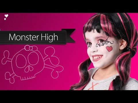 Maquillaje de Draculaura - Monster High