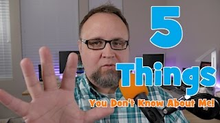 I have been thinking about this for a while, so I thought I would share with you a few things you might not know about me.I encourage my fellow Youtube content creators to consider making a video similar to this. It's great to find out more about the person behind the camera.Follow Me on Twitter @ToddsNerdCaveAlso you can now follow me on Facebook @ToddsNerdCave