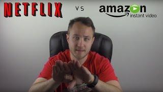 Amazon Prime Instant Video VS Netflix Streaming