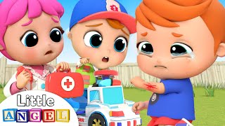 Doctor is Here to Help | Boo Boo Song | Little Angel Kids Songs &Nursery Rhymes