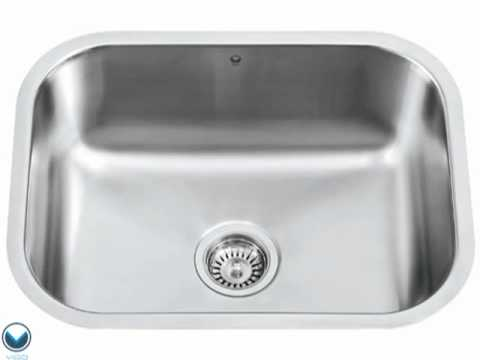 Video for 23-inch Eldridge Stainless Steel Undermount Kitchen Sink