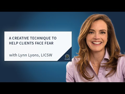 A Creative Technique to Help Clients Face Fear